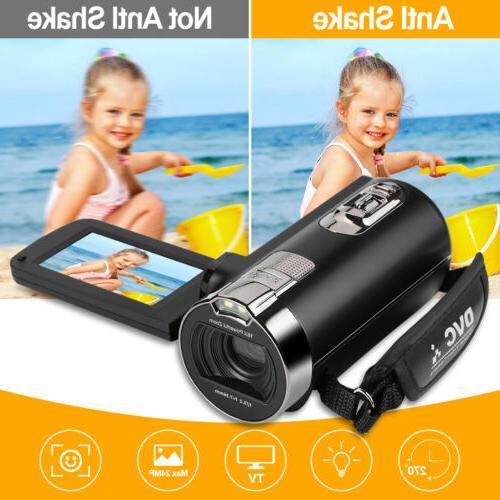 FULL HD Digital 16x Zoom Light