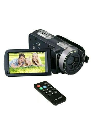 FHD Camcorder 1080p Camera, 24.0MP,
