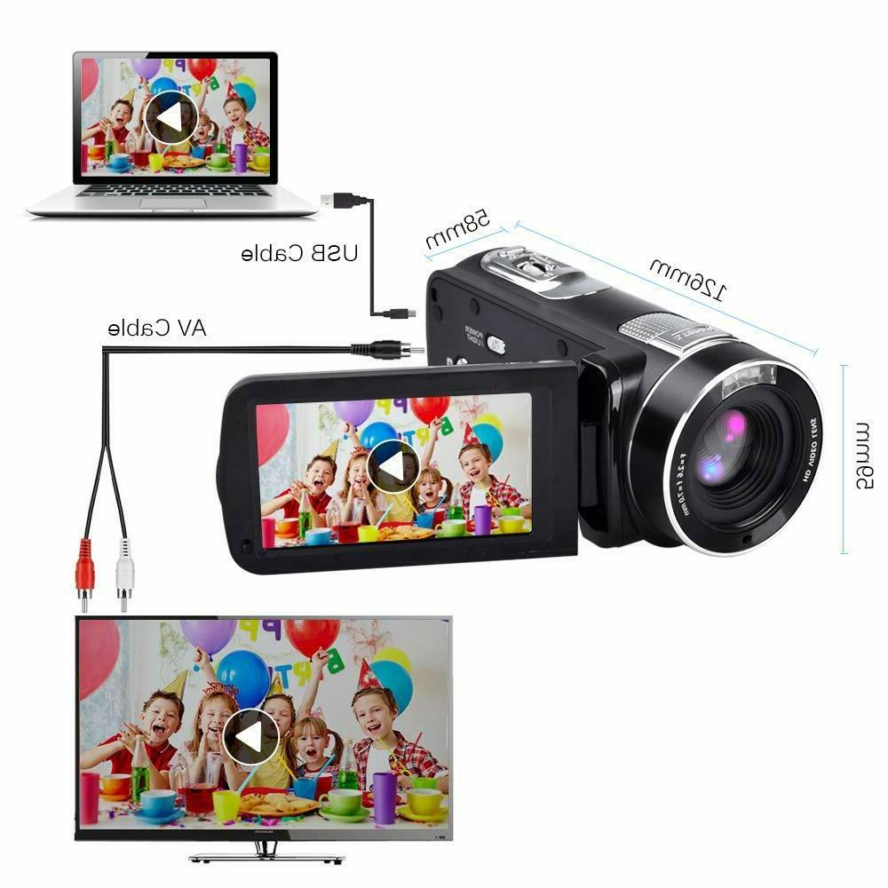 1080p Camera Touch Screen
