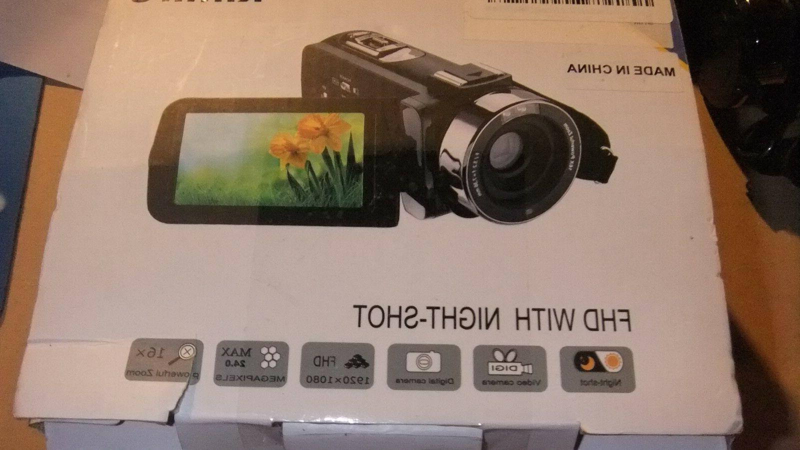 fhd video recorder camcorder camera 24mp 16x