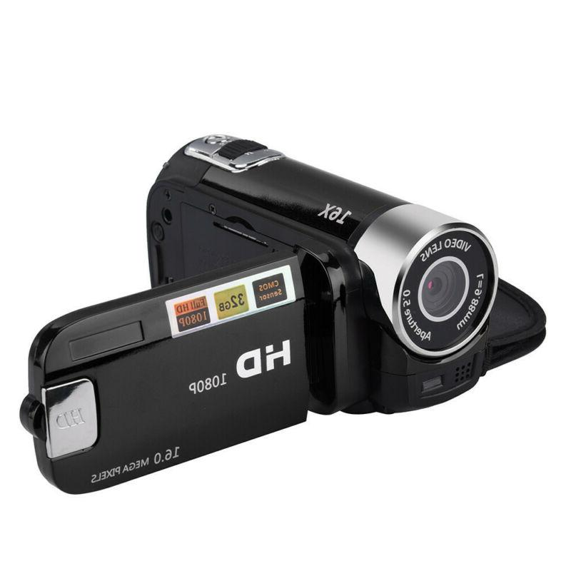 "FULL 2.7""LCD 16X ZOOM Video Camera Camcorder US"