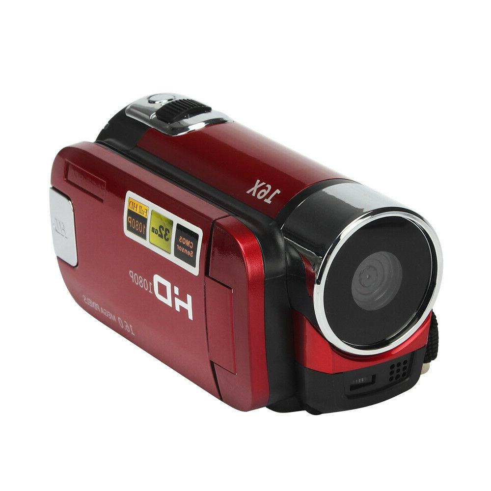 Full HD 1080P Digital Camera DV TFT
