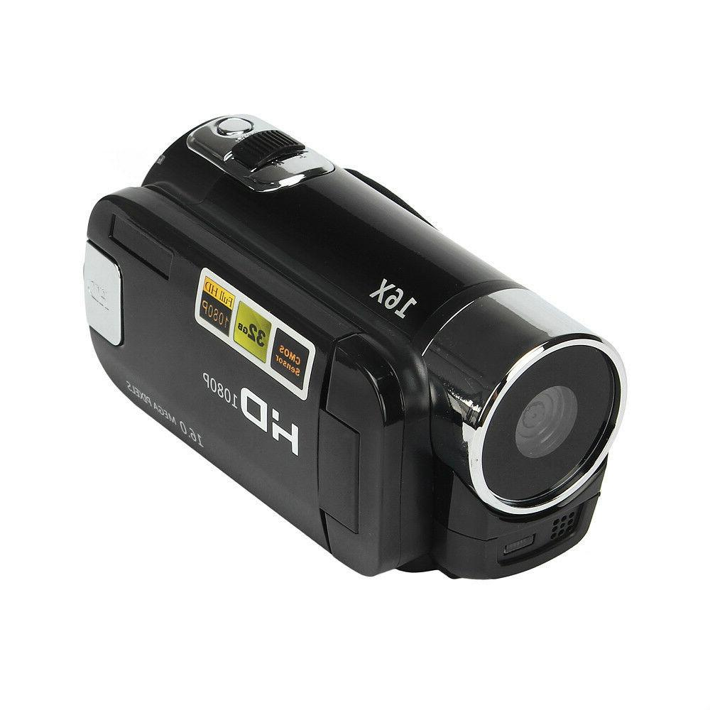 Full HD Digital Camcorder Camera TFT 16X