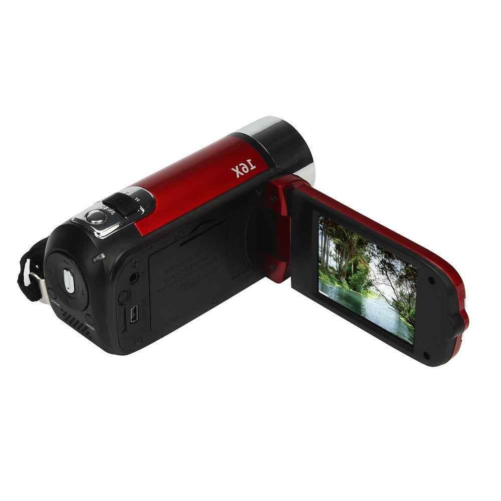 Full HD 16MP Digital Camera DV TFT