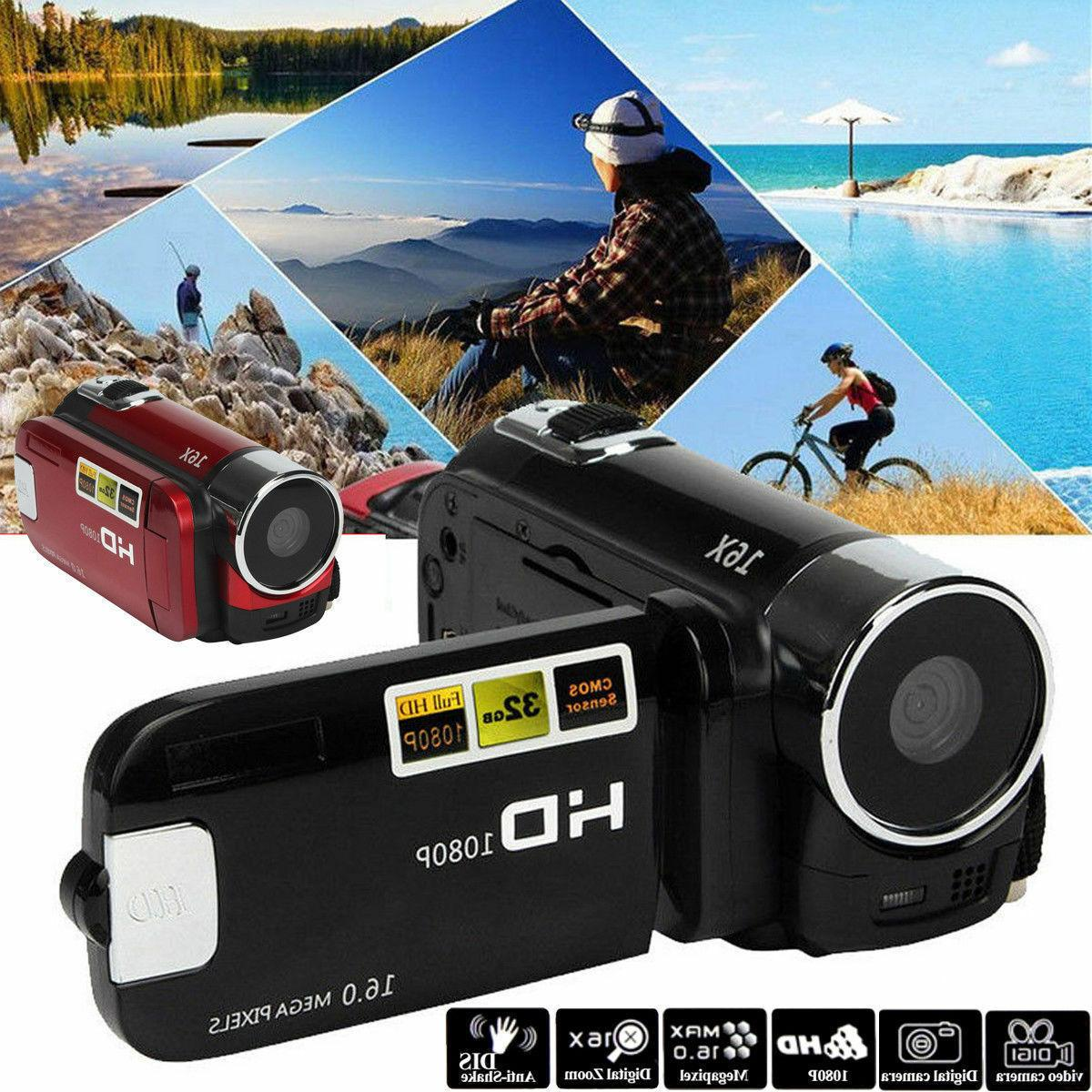 full hd 1080p 16mp digital video camcorder