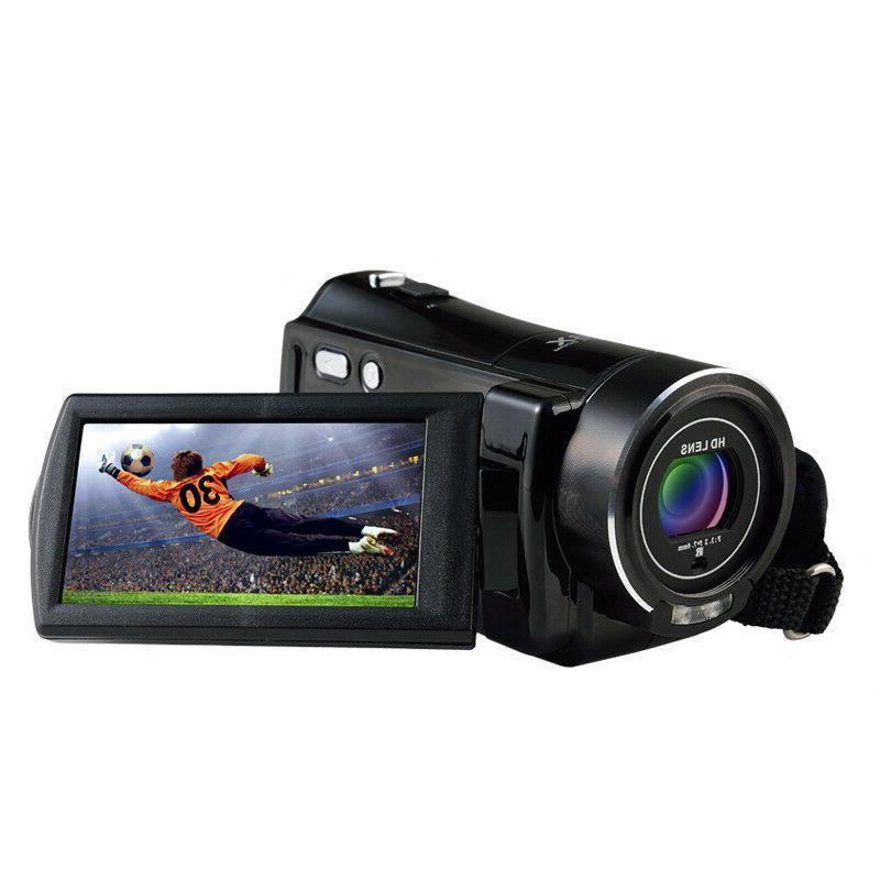"FULL HD 1080P 3""LCD 16X ZOOM Vision Digital Video DV Camera Camcorder"