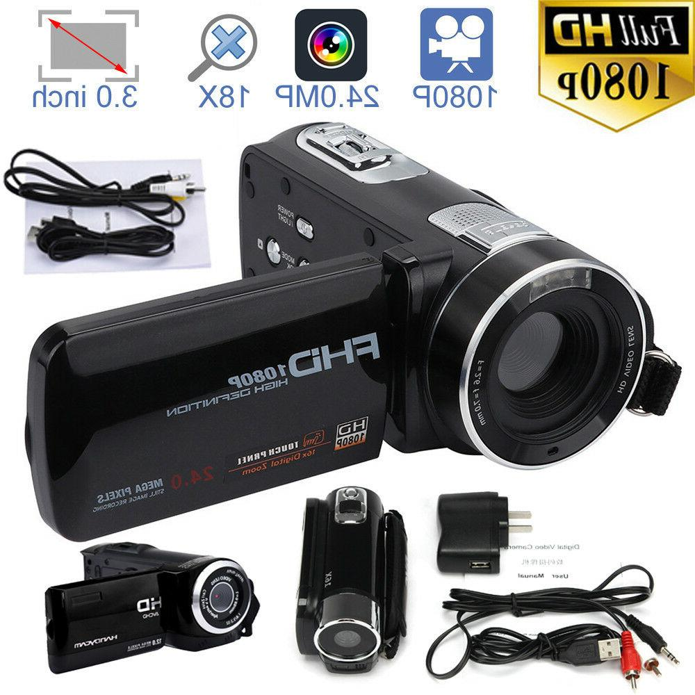 FULL HD 1080P Vision Digital Video Camera