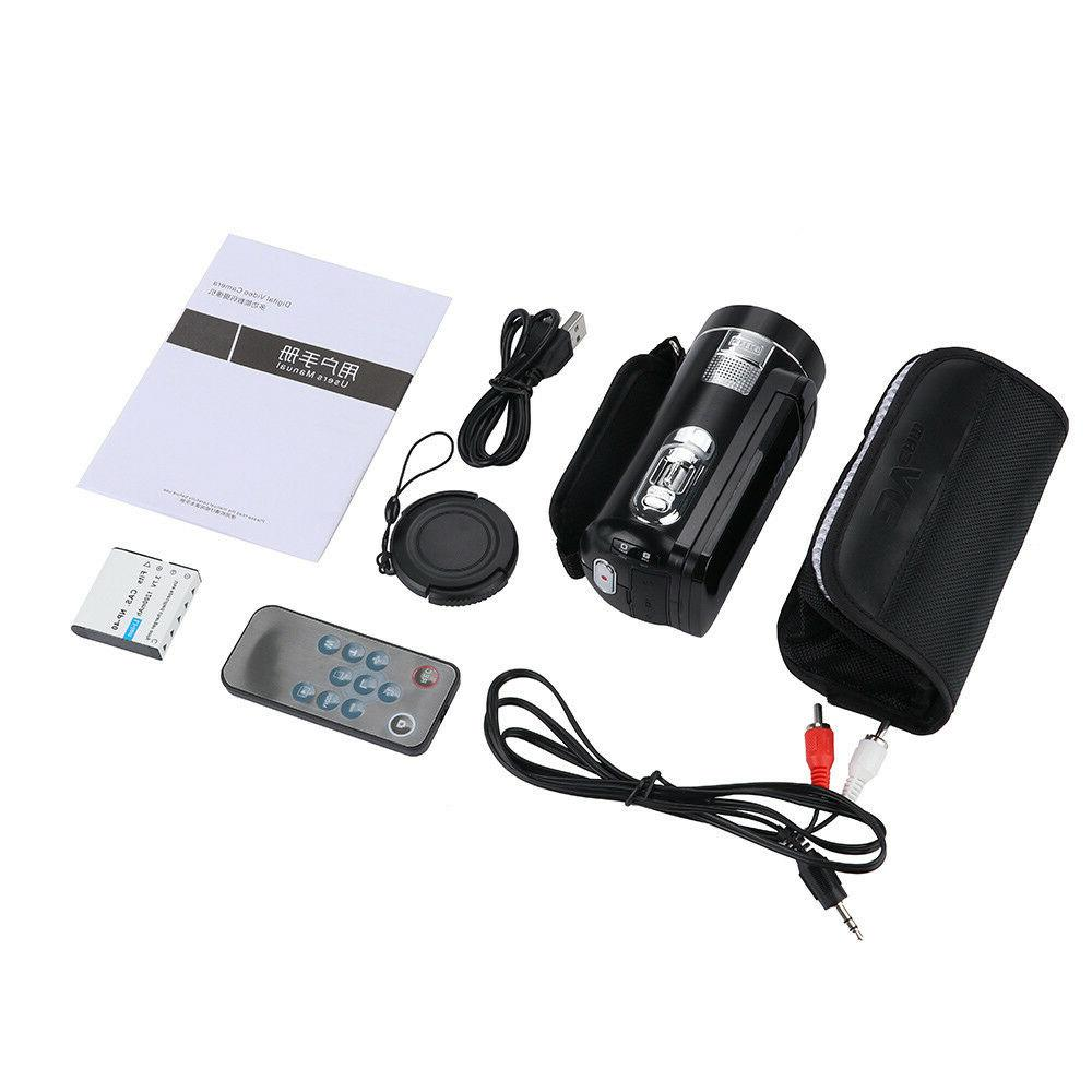 "FULL 1080P 24MP 3""LCD 16X ZOOM Night Vision Digital Video Camera Camcorder"