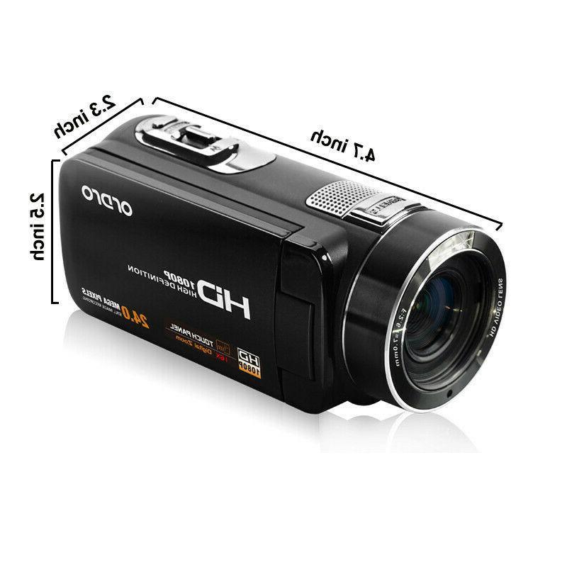 "3""LCD 18X ZOOM Night Vision Digital Video Camera Camcorder"