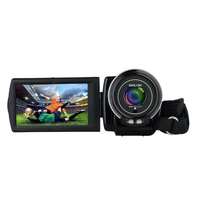 "FULL HD 1080P 3""LCD Vision Video Camera"