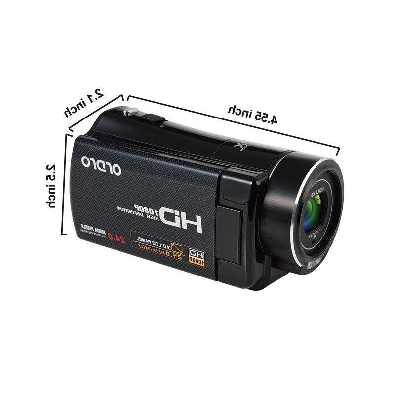 "FULL 1080P 3""LCD 16X ZOOM Vision Camera"