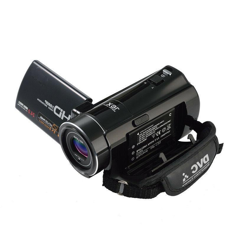 "FULL HD 3""LCD 18X ZOOM Vision Camera"