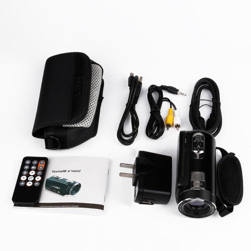 """FULL HD 3""""LCD 18X ZOOM Camera"""