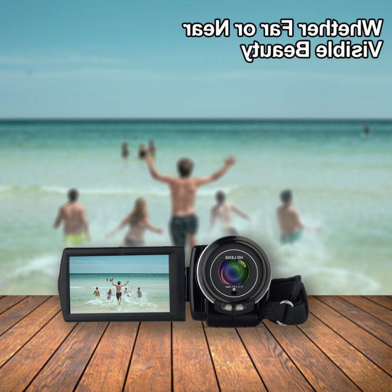 """FULL 1080P 3""""LCD Vision DV Camera"""