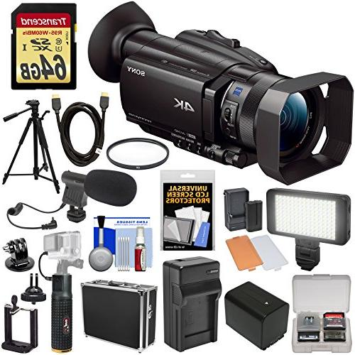 handycam fdr ax700 camcorder