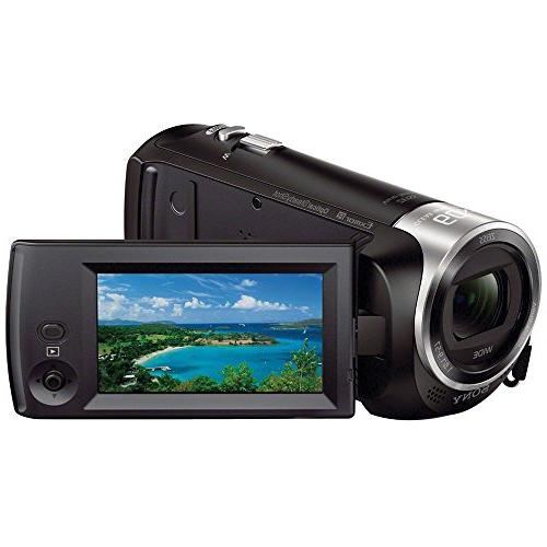 Sony HDR-CX405 HD Camera with Card Charger Tripod Kit SONY USA Warranty