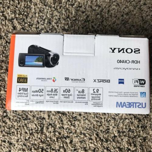 Sony Handycam HDR-CX440 Full HD Black