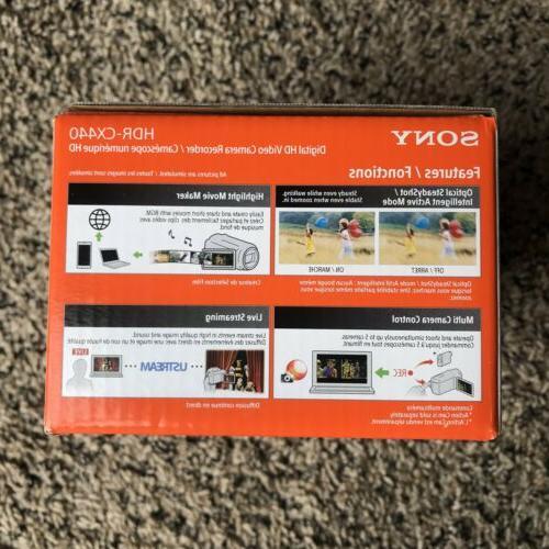 Sony Handycam HDR-CX440 Full 8GB Black