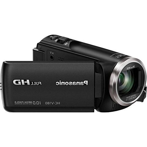 Panasonic Camera Camcorder with Card + Tripod +