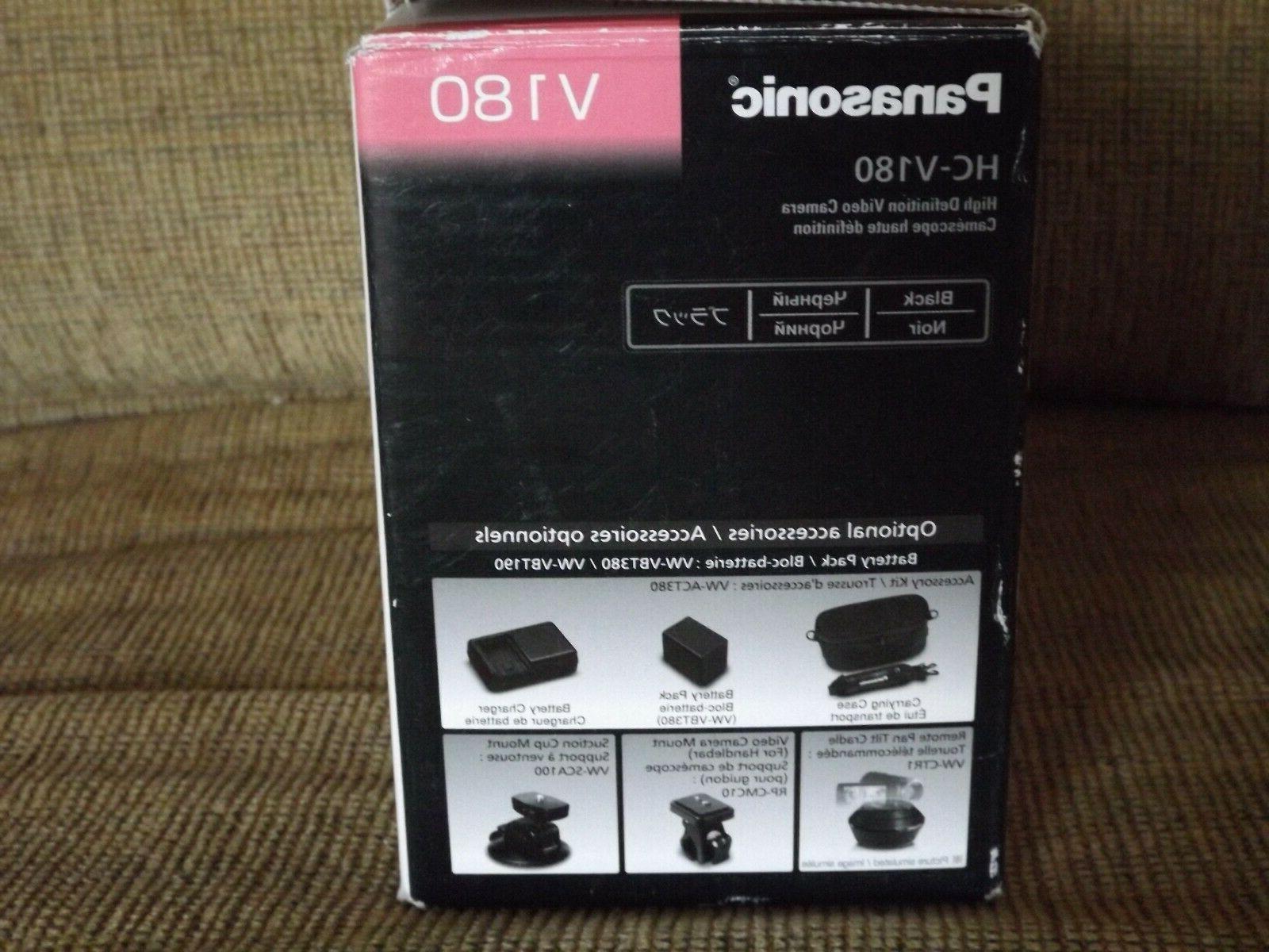 HC-V180 Panasonic HD Black