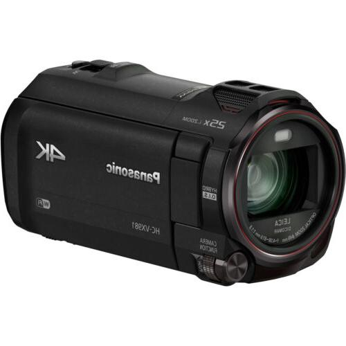 Panasonic HC-VX981K HD Camcorder Twin - Black