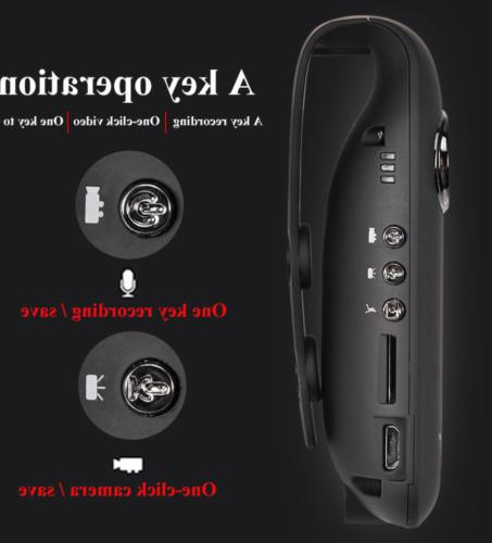 HD Camcorder Dash Cam Body Bike Camera