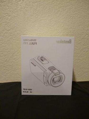 Besteker 1080P 24 Video Camcorder.