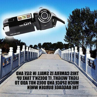 FULL HD 1080P 16X ZOOM Video DV Camera DVR C0V0