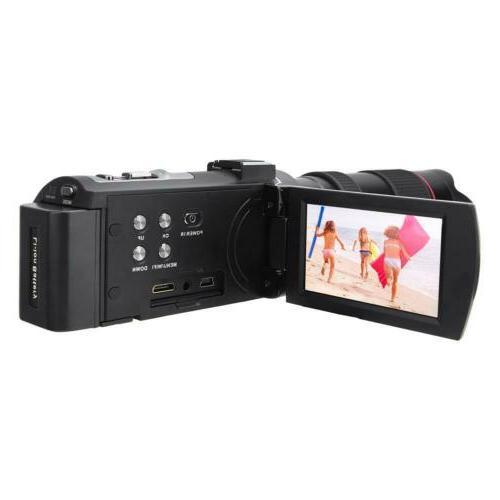"HDR-AE8 4K 3.0"" 16X Digital Video Vision M"