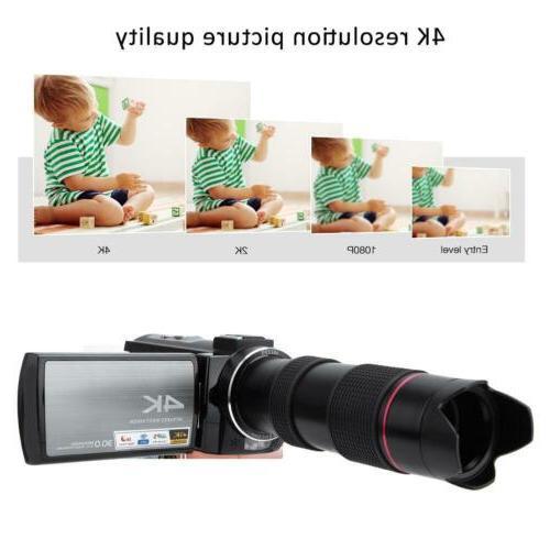 "HDR-AE8 HD 3.0"" Digital Camera Camcorder Vision M"