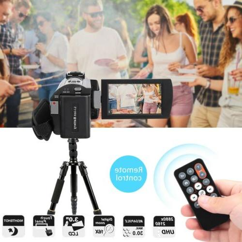 "HDR-AE8 4K WIFI 3.0"" Digital Camera Camcorder"