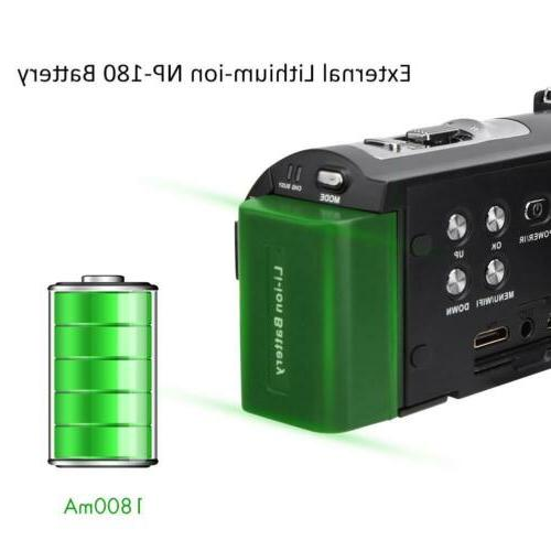 "HDR-AE8 3.0"" 16X Digital Video Camera Vision"
