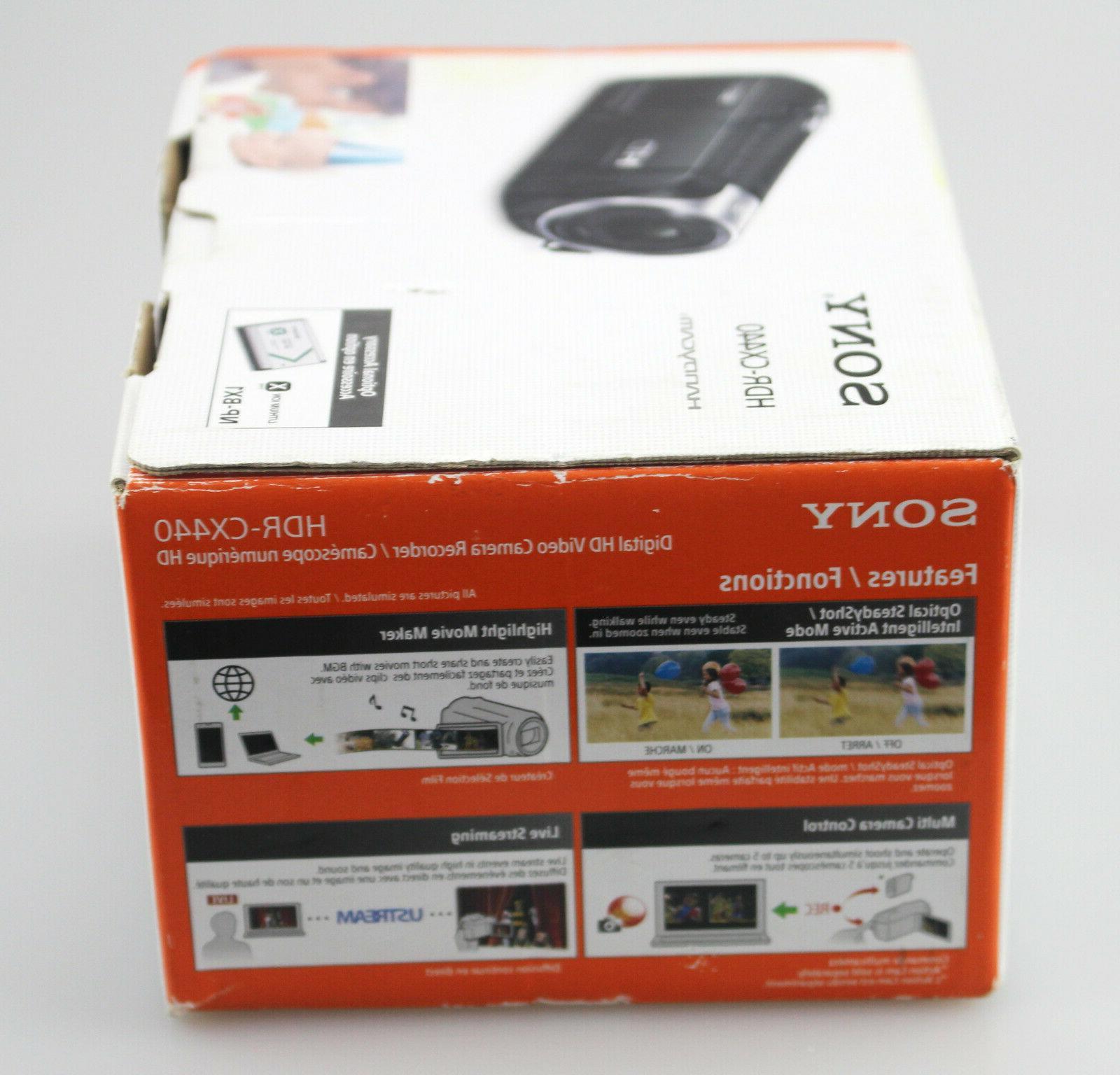 Sony Handycam HD 8GB Black NEW