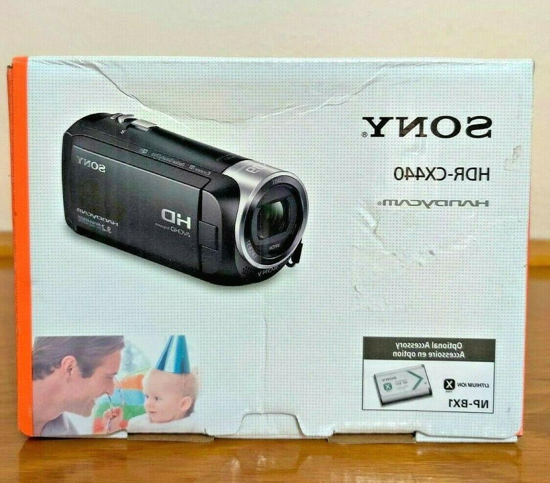 hdr cx440 hd handycam with 8gb internal
