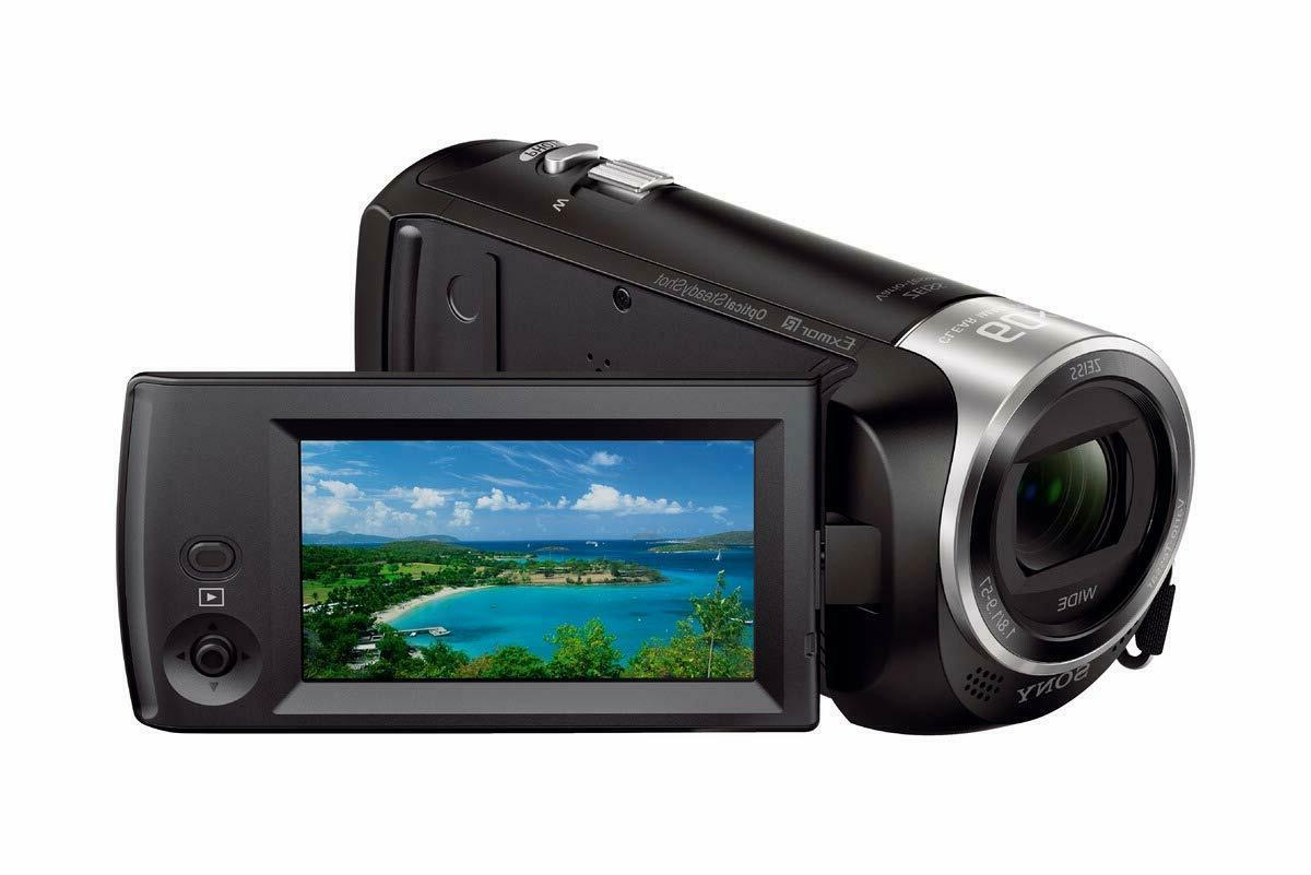 hdrcx405 hd video recording handycam camcorder black