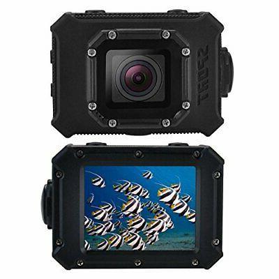 hdv 26 black 4k underwater camcorder wifi