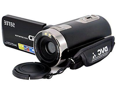 SEREE FHD Digital Camcorder Wide Angle