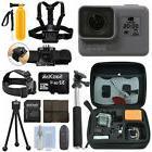 GoPro HERO6 Black Waterproof 4K Camera Camcorder + 32GB Acti