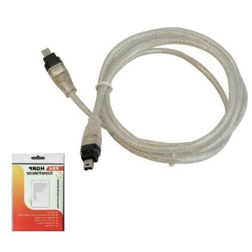 HQRP 1394 to 4pin Cord Panasonic PV-GS180 PV-GS19 PV-GS2 Camcorder LCD Screen