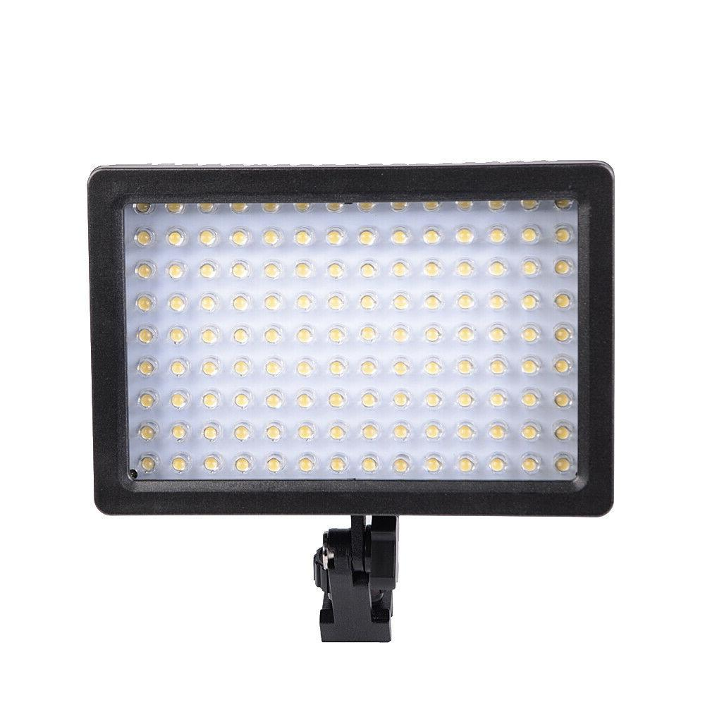 YONGNUO YN600L LED 5500K Studio Video Film Lighting + AC/DC