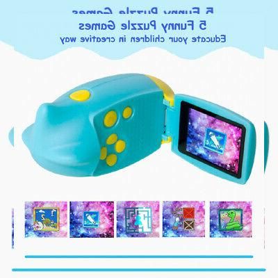 SEREE Camera Childrens with 2.0 inch Screen Blue