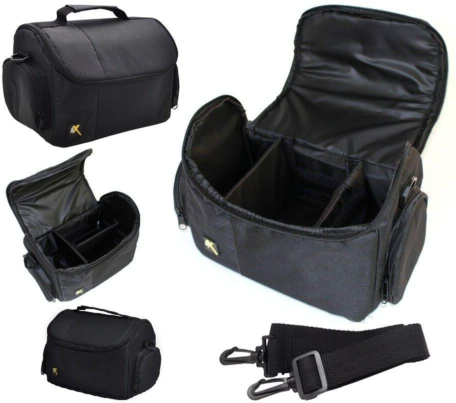 Large Deluxe Camera Camcorder Carrying Bag Case For Sony FDR