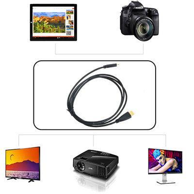 PwrON 1080P Mini HDMI AV Audio Video TV Cable for Samsung Ca
