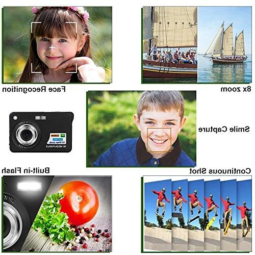 Fosa with LCD Pixels cameras Support 8X Digital for Kids Adult