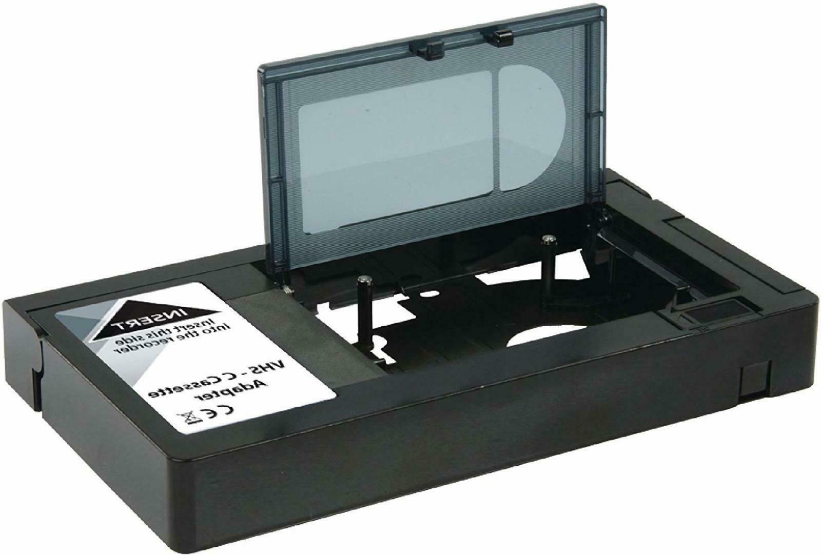 Motorised Compact Video Cassette Tape Player Record Adapter
