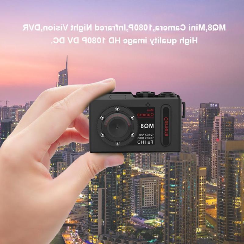 MQ8 Mini <font><b>Camera</b></font> HD Infrared <font><b>Night</b></font> DVR Digital <font><b>Camera</b></font>