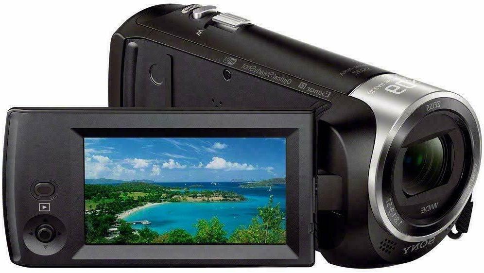 NEW! 1080p Memory Black Camcorder