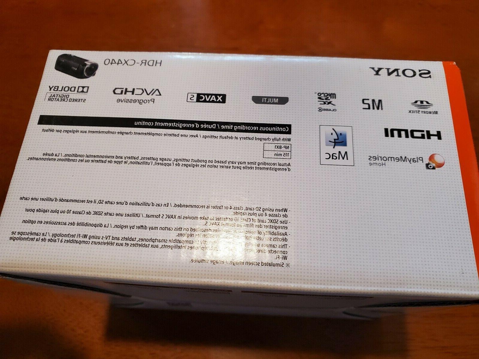 NEW! 1080p HD Memory Camcorder