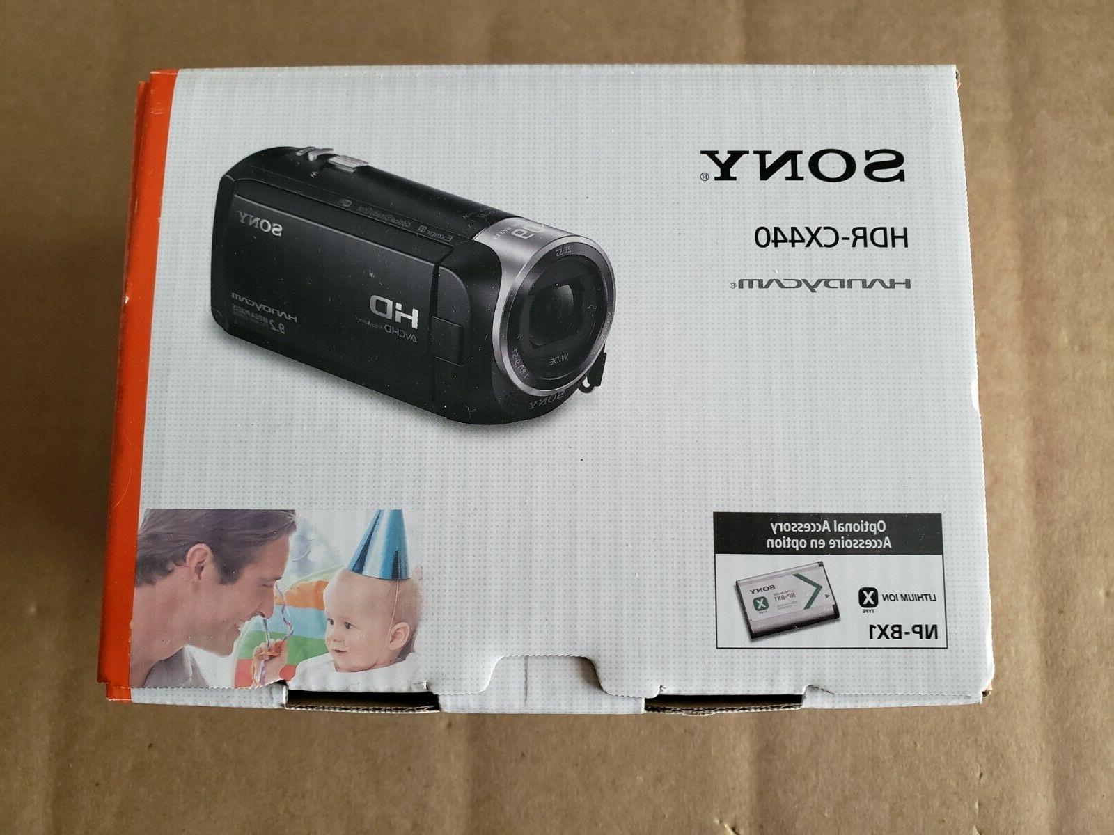new handycam hdr cx440 8gb wi fi