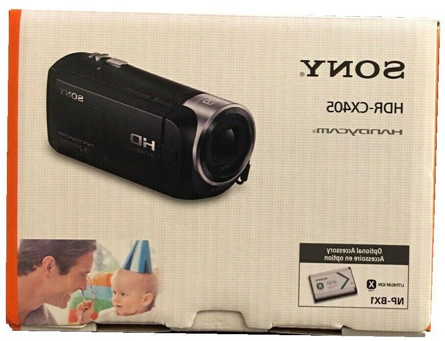 new hdr cx405 handycam cx405 flash memory